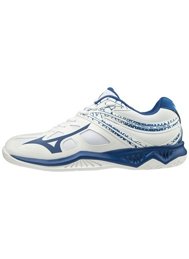 Mizuno Thunder Blade 2 Unisex Voleybol Ayakkabısı Beyaz / Mavi Beyaz